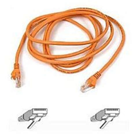 PATCH CABLE - RJ-45 - MALE - 7 - BLACK Electronics Computer Networking