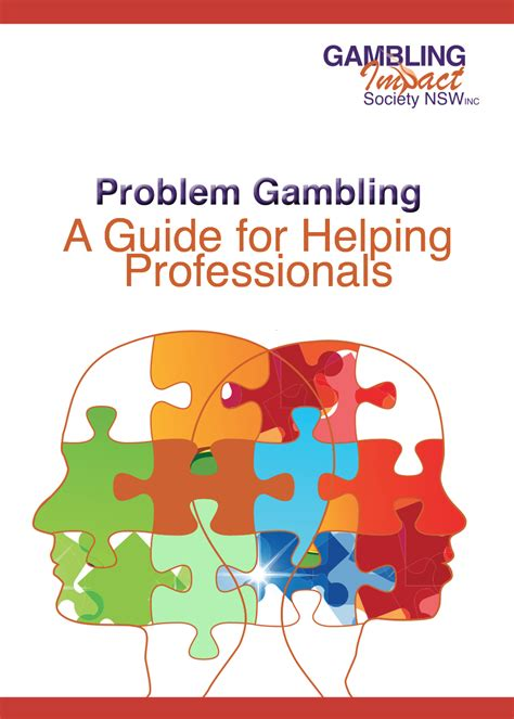 [pdf] Problem Gambling A Guide For Helping Professionals.