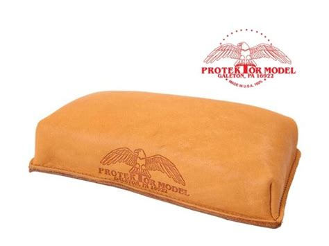 Protektor Model 16 Leather Brick Shooting Rest Bag Made.