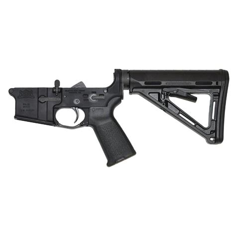 Psa Ar-15 Magpul Black Moe Complete Lower Palmetto.