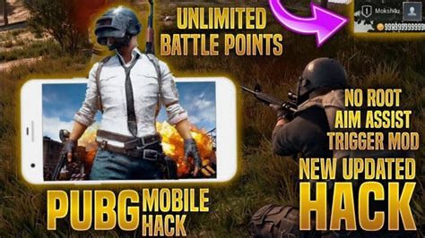PUBG Mod Unlimited Everything Apk