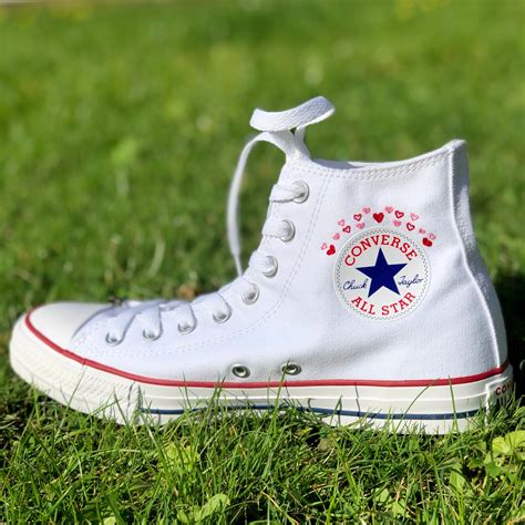 Pablo Converse Embroidered Sneakers