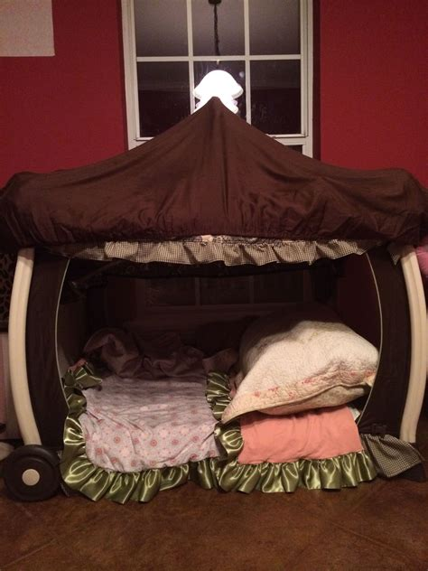 Pack And Play Bed Diy Ideas