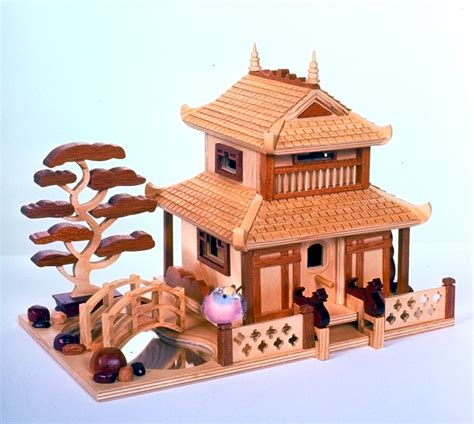 Pagoda-Birdhouse-Plans