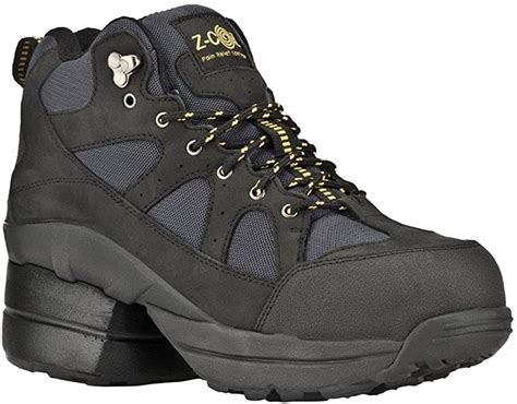 Pain Relief Footwear Men's Outback Hiker Composite Toe Black Boots