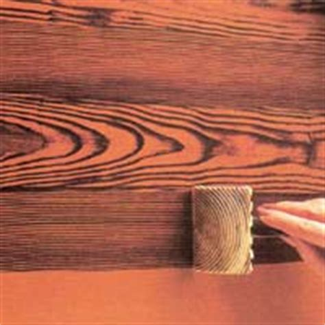 Paint Faux Wood Grain Walls