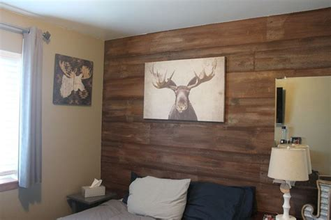 Paint Faux Wood Wall