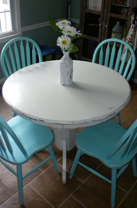 Paint Round Table Diy
