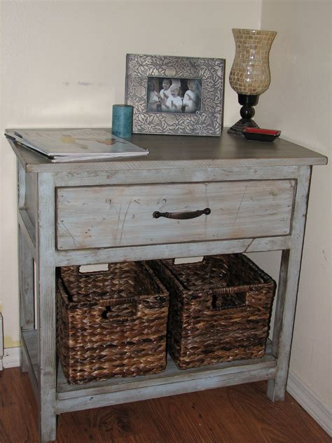 Painted Bedside Tables Diy