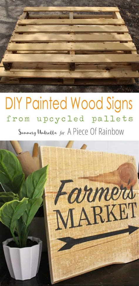Painted Signs On Wood Diy