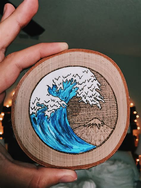 Painted Wood Burning Projects
