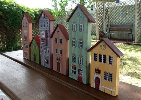 Painted Wooden Houses