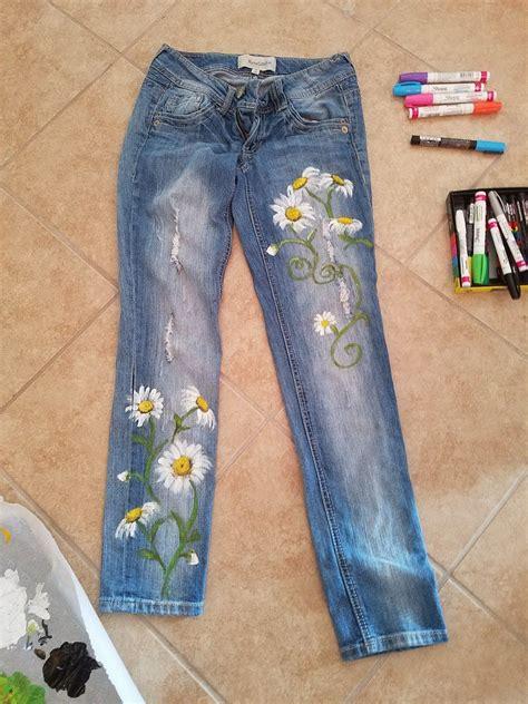 Painted-Jeans-Diy