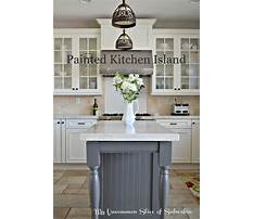 Best Painted kitchen island images