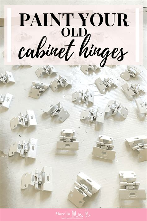 Painting Old Kitchen Cabinet Hinges