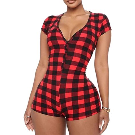 Pajama Romper Shorts