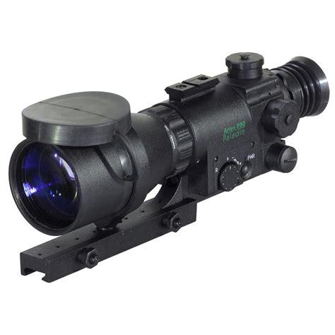 Paladin Mk390 Night Vision Rifle Scope And Pentax Gameseeker 412x40 Mm Rifle Scope Precision Plex Variable Power