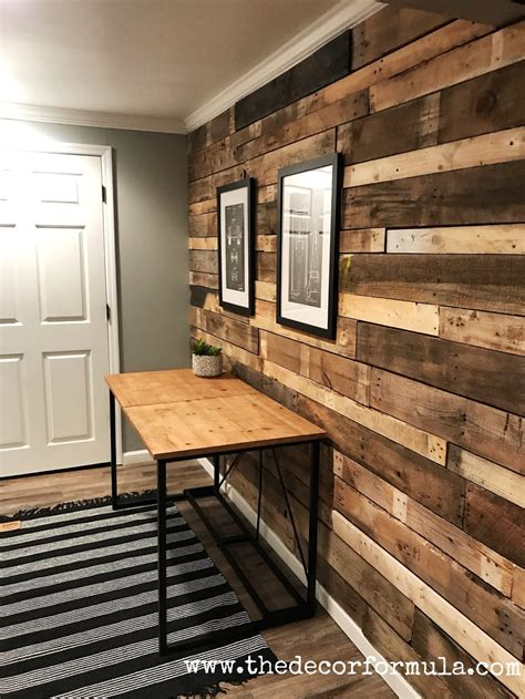 Pallet Board Wall Diy Stickers