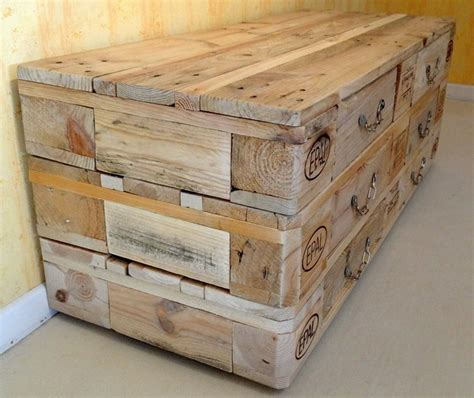 Pallet Chest Of Drawers Plans