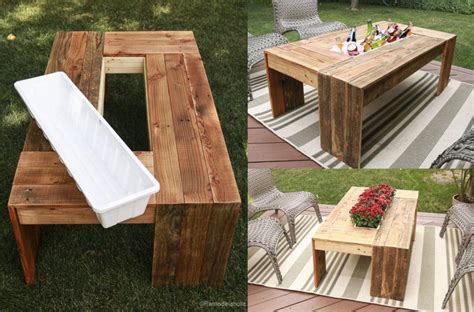 Pallet Cooler Table Plans