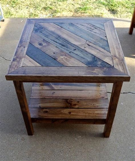 Pallet End Tables Plans