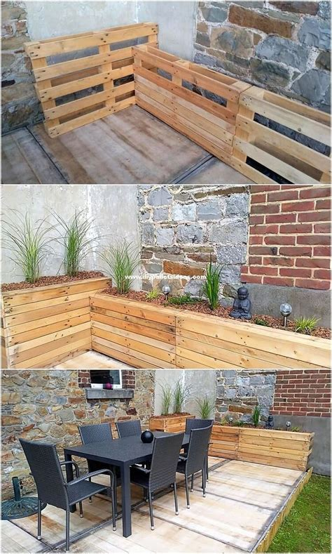 Pallet Furniture Construction Plans