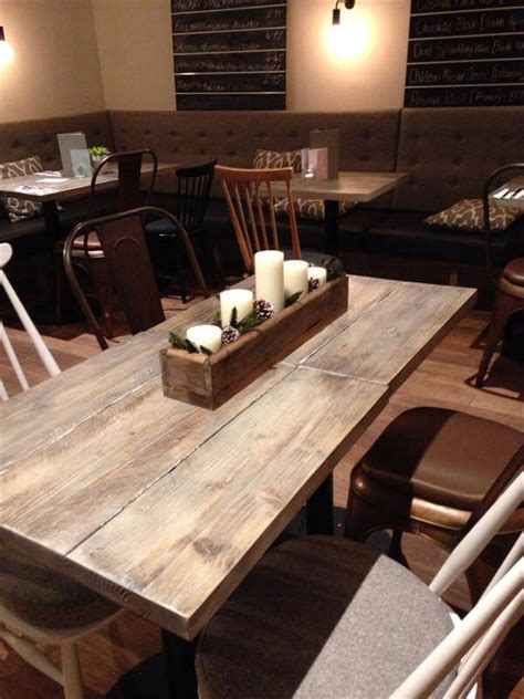 Pallet Furniture Diy Table Centerpieces