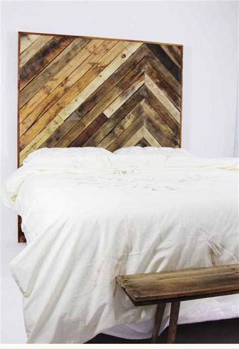 Pallet Headboard Diy King