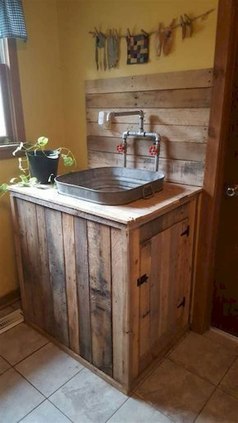 Pallet Kitchen Sink Cabinet Plans