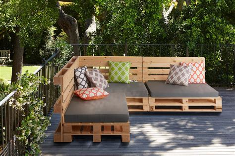 Pallet Outdoor Sectional Plans