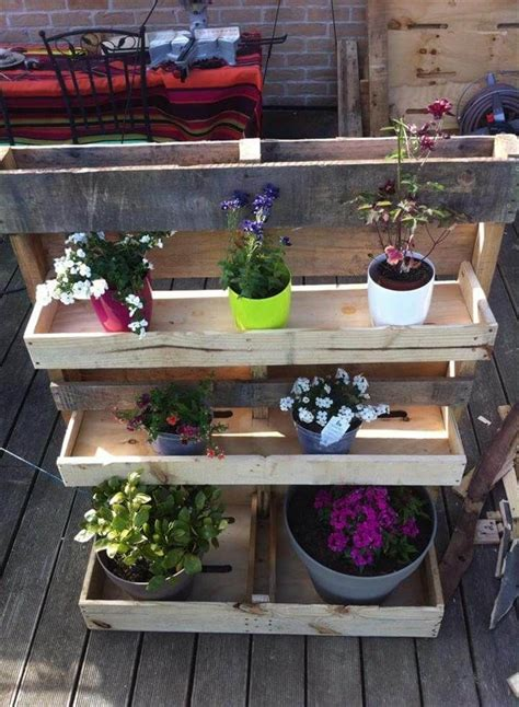 Pallet Planter Box Plans Vertical
