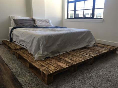 Pallet Platform Bed Diy Kits