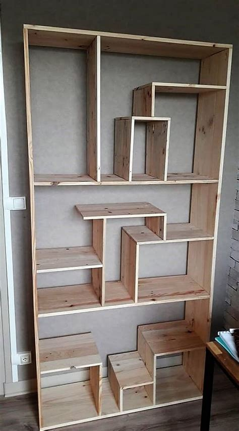 Pallet Shelving Unit Diy