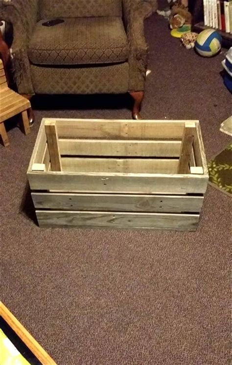 Pallet Toy Box Diy