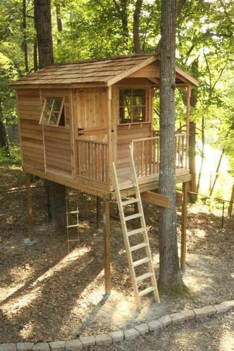 Pallet Tree House Plans