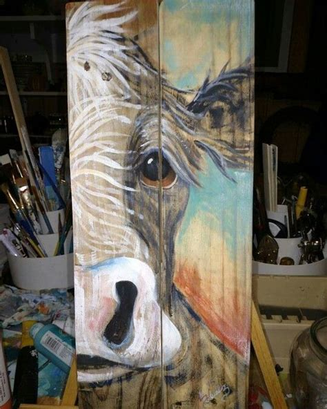 Pallet Wood Canvas DIY