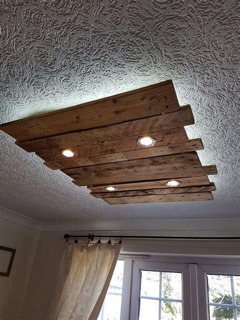 Pallet Wood Ceiling Diy Projects