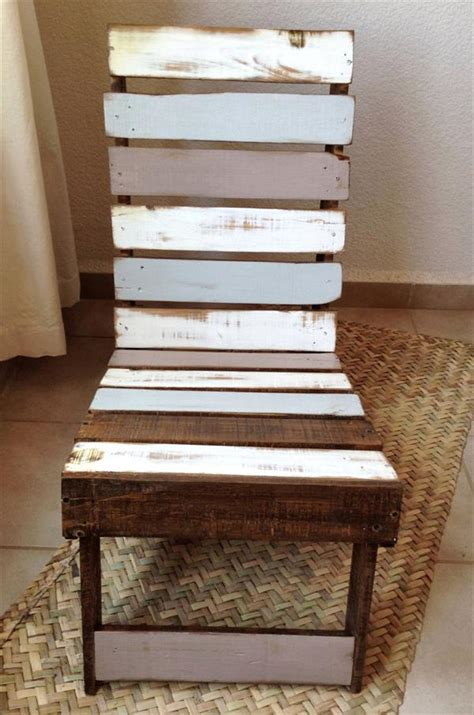 Pallet Wood Chair Diy Boho