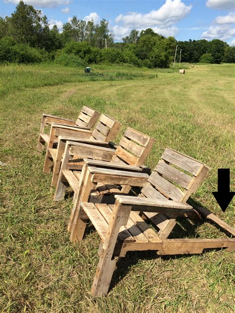 Pallet Wood Chairs Plans