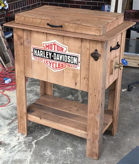 Pallet Wood Cooler Box Plans