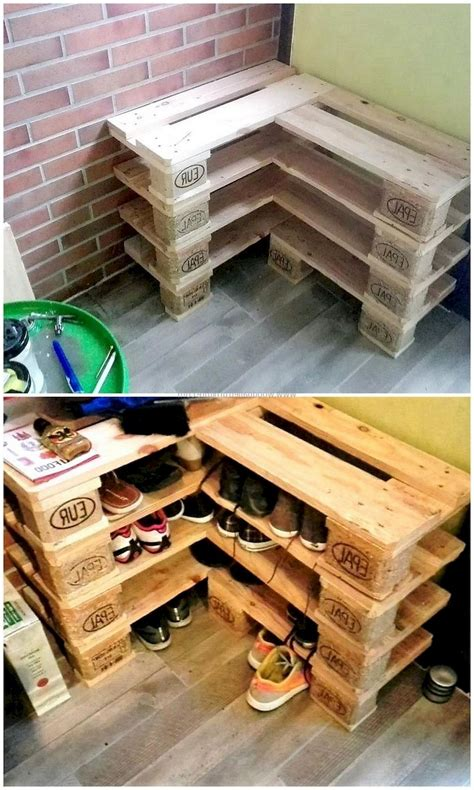 Pallet Wood Furniture Diy Ideas