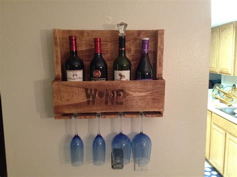 Pallet Wood Wine Rack Plans