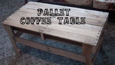 Pallet-Coffee-Table-Diy-Youtube
