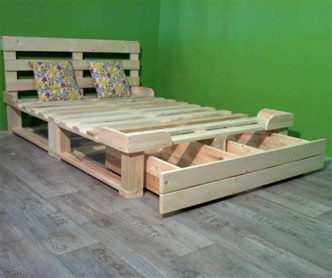 Pallet-Wood-Bed-Plans