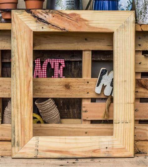 Pallet-Wood-Frame-Diy