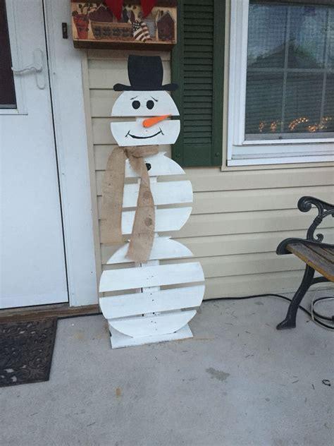 Pallet-Wood-Snowman-Plans