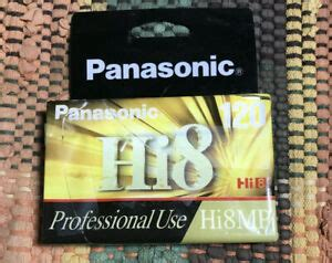 Panasonic Hi8 8mm CAMCORDER VIDEO TAPE 120 min