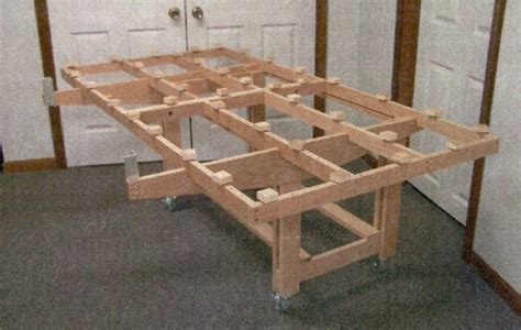 Panel Cutting Table Plans