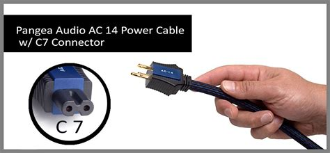 Pangea Audio - AC-14 - Power Cable 2.0 Meter - C7