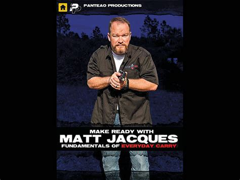 Panteao Concealed Carry Tips From Matt Jacques  Massad Ayoob.